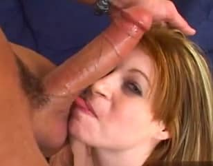 Scarlet Is A Cute Redhead Who Has Hungry For Huge Dick
