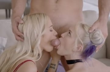 Two College Teens Fucking With Mick Blue